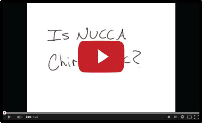 is nucca chiropractic video