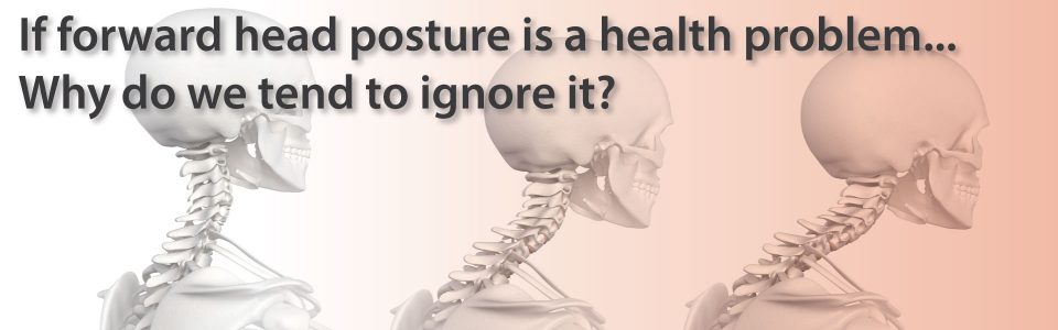 forward head posture is a health problem
